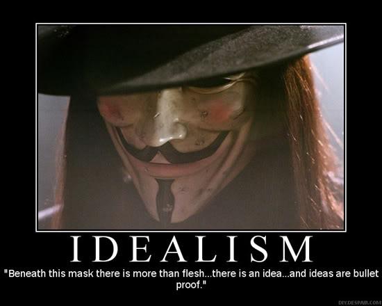 V For Vendetta Inspiration Joint Chinminpoo