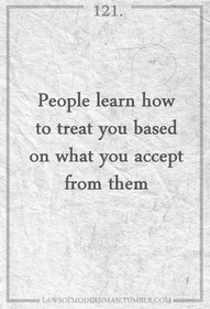 people learn how treat